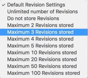 Revision History Control WordPress優化工具文章版本數量控制外掛 8