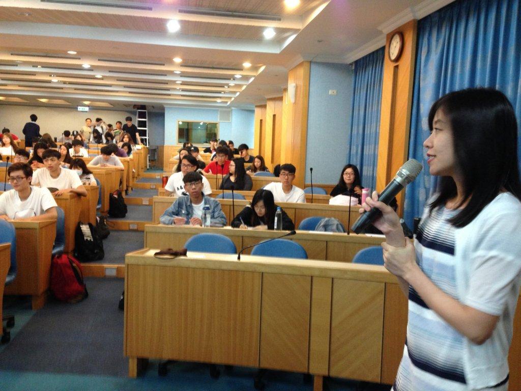 東吳大學資管所黃心怡老師主持-網路創業課程