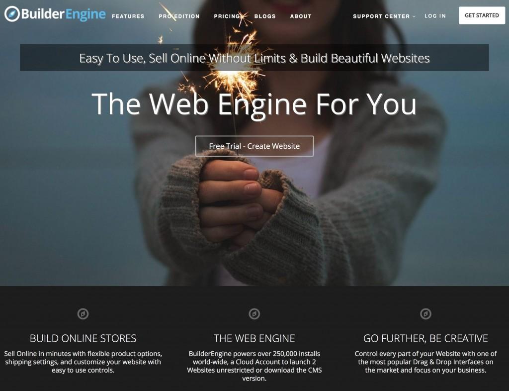 BuilderEngine website